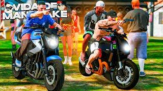 GTA 5: VIDA DE MANDRAKE | FIZEMOS UM BAILE FUNK NA FAVELA 🤟🏽 #34