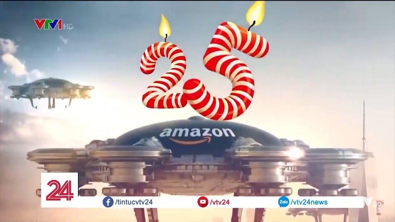 25 năm Amazon: Từ hiệu sách không tên tuổi trở thành đế chế TMĐT lớn nhất thế giới| VTV24