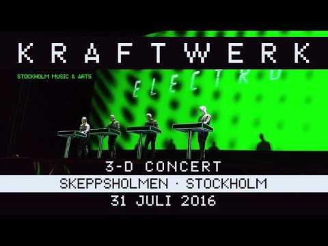 Kraftwerk - Stockholm Music & Arts - Skeppsholmen, Stockholm, 2016-07-31
