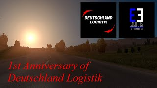 1 Year of Deutschland Logistik Anniversary Convoy | Official Video | Elite ENTERTAINMENT Production