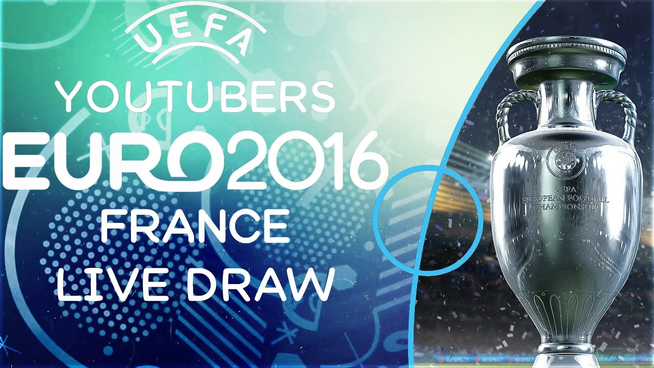 THE FIFA YOUTUBERS EURO 2016 LIVE DRAW - THE DRAW FOR THE YOUTUBERS EURO 2016 TOURNAMENT!