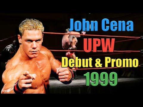 John Cena (ProtoType) 1999 Old Debut & Promo In UPW