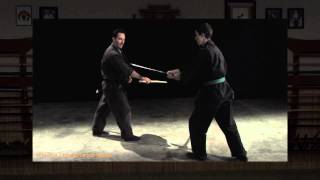 Bokken Training Drill To Practice Distance for Katana Sword Strikes and Blocks