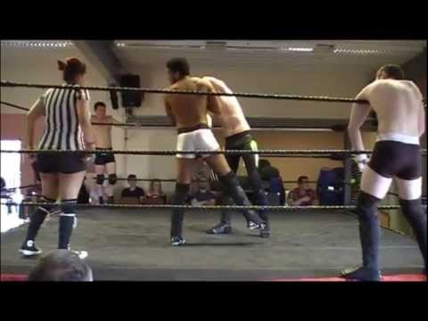 Dropkixx Cael Farren & Rohan Blake (Rogue Unit) vs Lewis Howley & Lewis Barrett