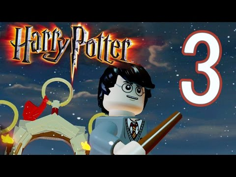 LEGO Dimensions Harry Potter World Part 3 Hogwarts School of Wizardry (HD)