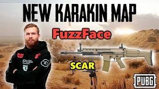 NEW PUBG MAP KARAKIN! - Faze FuzzFace - SCAR+Win94 - Random SQUAD