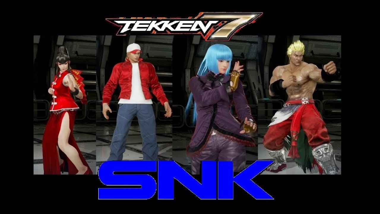 X Men In Tekken 7 Josie Alisa Jin Customization Showcase By Silvershire