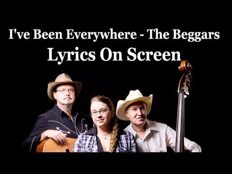 Ive Been Everywhere Lyrics The Beggars Australian version