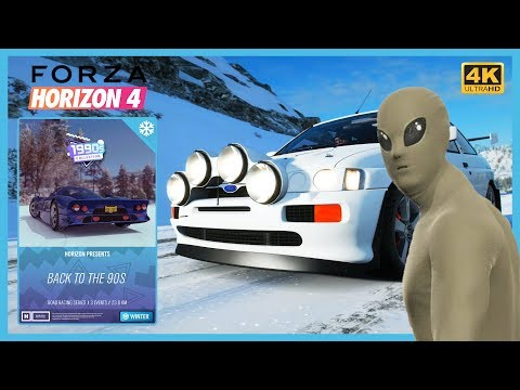 Forza Horizon 4 - Back to the 90s Seasonal Event - Getting ALIEN MORPH SUIT Easy with Tune! thumbnail