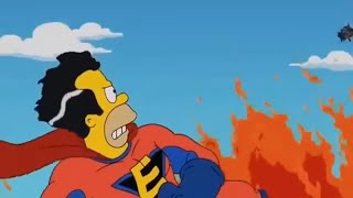 The Simpsons  Homer Becomes a SuperHero