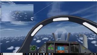[FSX/FSCloud] Intercepting PandaFly in Rafale to Tahiti !