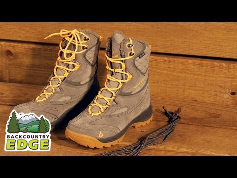 c82e338a9da3f Vasque Women s Pow Pow II UltraDry Insulated Boots - YouTube