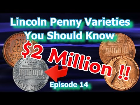 Lincoln Penny Varieties You Should Know Ep.14 - 1909, 1959, 1974