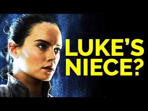 THE LAST JEDI REVEALED REY WAS LUKE SKYWALKER