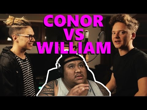 Conor Maynard VS. William Singe - SING OFF [MUSIC REACTION]
