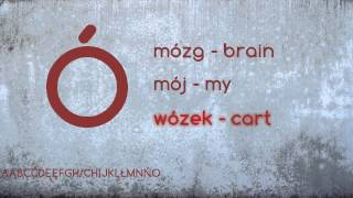 Polish Course - Lesson 1 Alphabet