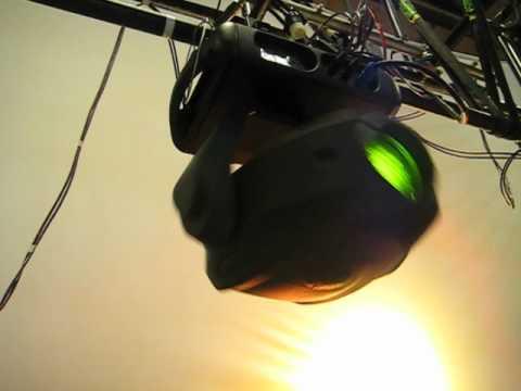 Demo: Vari-Lite VL880 Spot