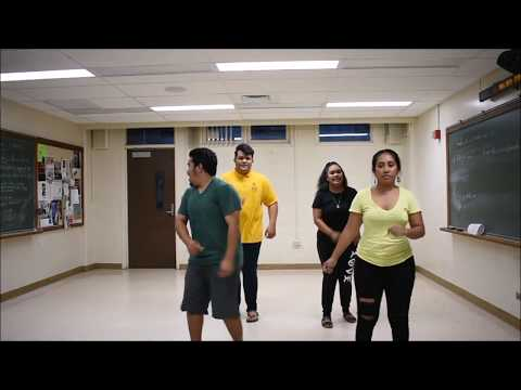 Traditional Marshallese Dance - exercise video