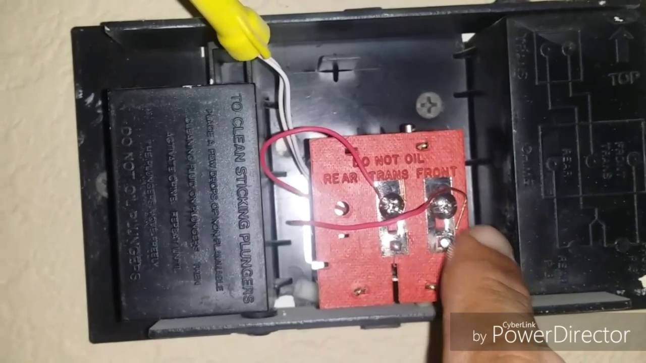 Wiring 2 Doorbell Chimes