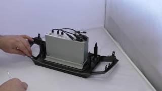 Обзор базовой магнитолы 10 дюймов на андроиде и переходной рамки LeTrun