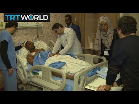 Somalia Bombings: Severely wounded arrive in Turkey for treatment