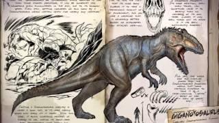 todos los dinosaurios de ark survival evolved