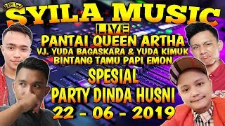Download lagu SYILA MUSIC LIVE QUEEN ARTHA SPESIAL PARTY DINDA HUSNI - REMIX LAMPUNG 2019 || Aahheee