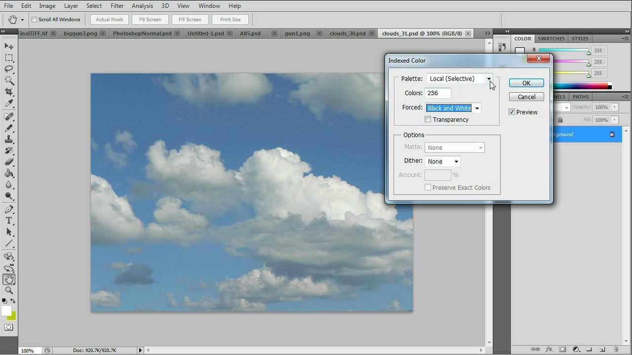 Photoshop Color by Number Tutorial - YouTube
