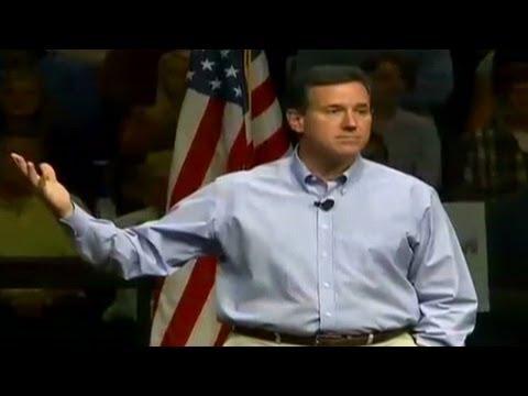 Santorum: Colleges diminishing faith