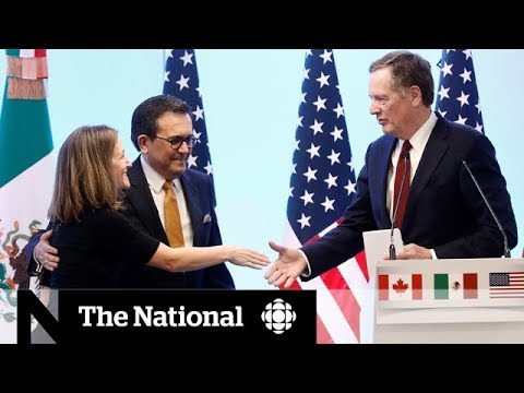 Canada, Mexico and U.S. edge closer to NAFTA agreement