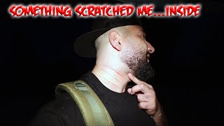 I GOT SCRATCHED BY SOMETHING IN THIS HAUNTED ASYLUM....
