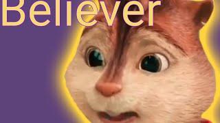 Элвин и бурундуки клип Believer. Пишите какие песни брать для клипов🐿🐿🐿