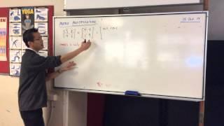 Matrix Multiplication (2 of 3: Quick Example)