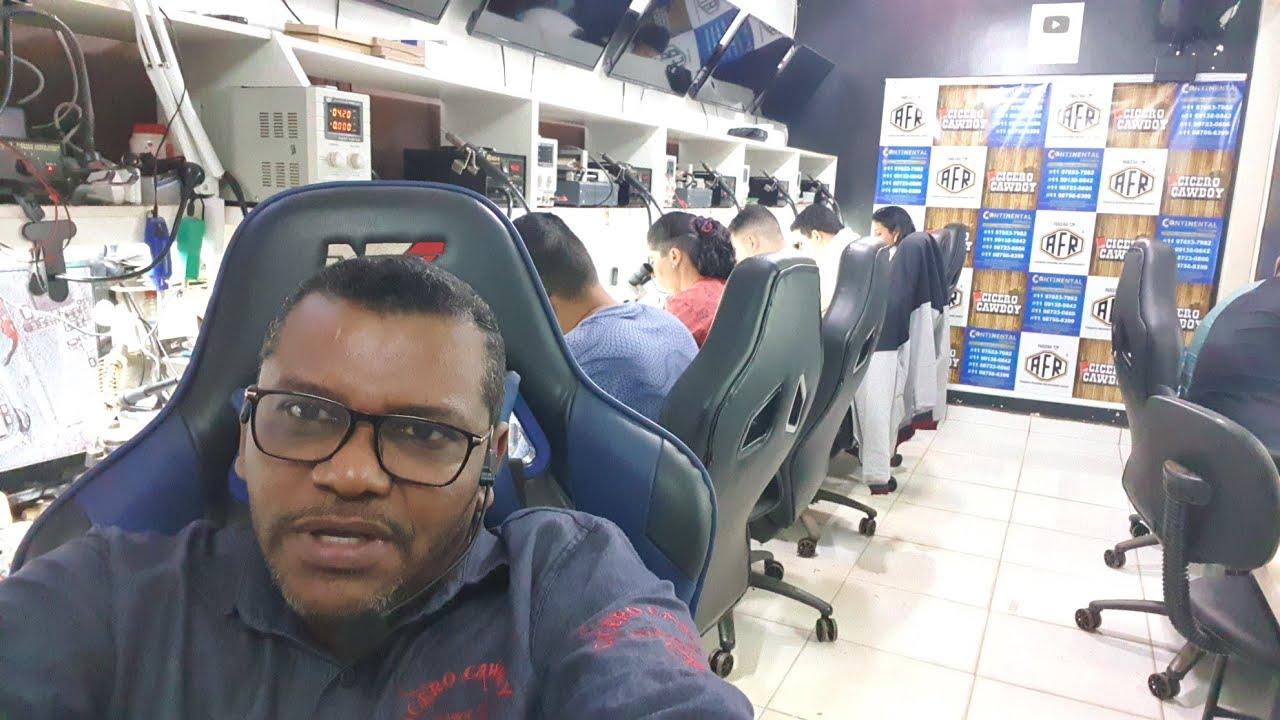 TURMA DE NÚMERO 98. CURSO PRATICO DE REPAROS EM PLACA DE SMARTPHONES. EM BRASÍLIA.