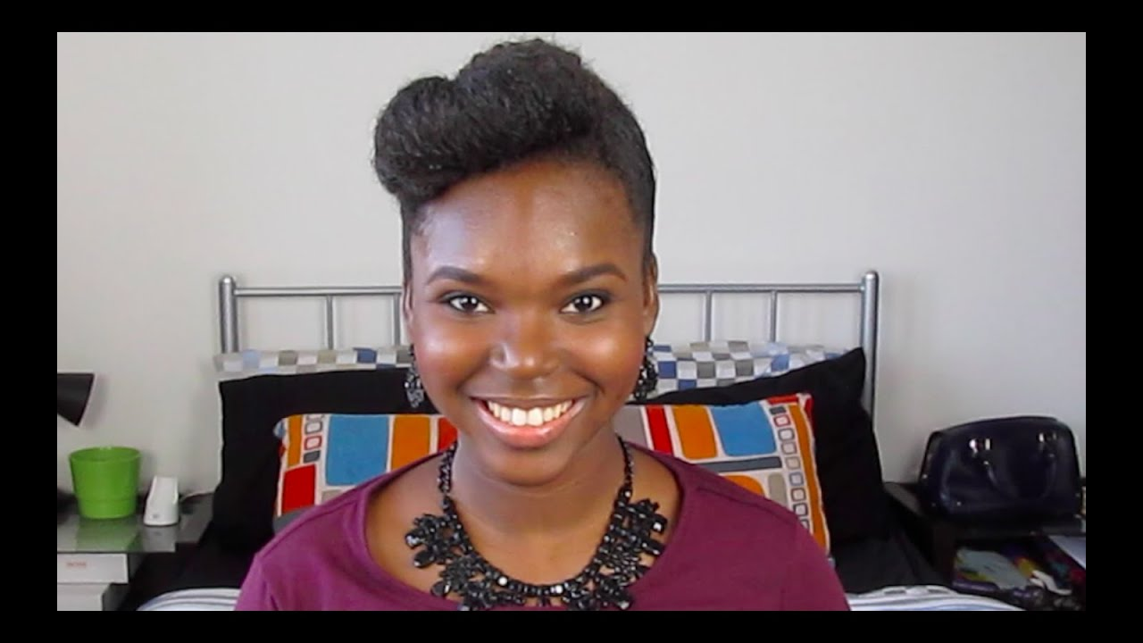 Roll Tuck And Pin Hairstyles Natural Hair Youtube
