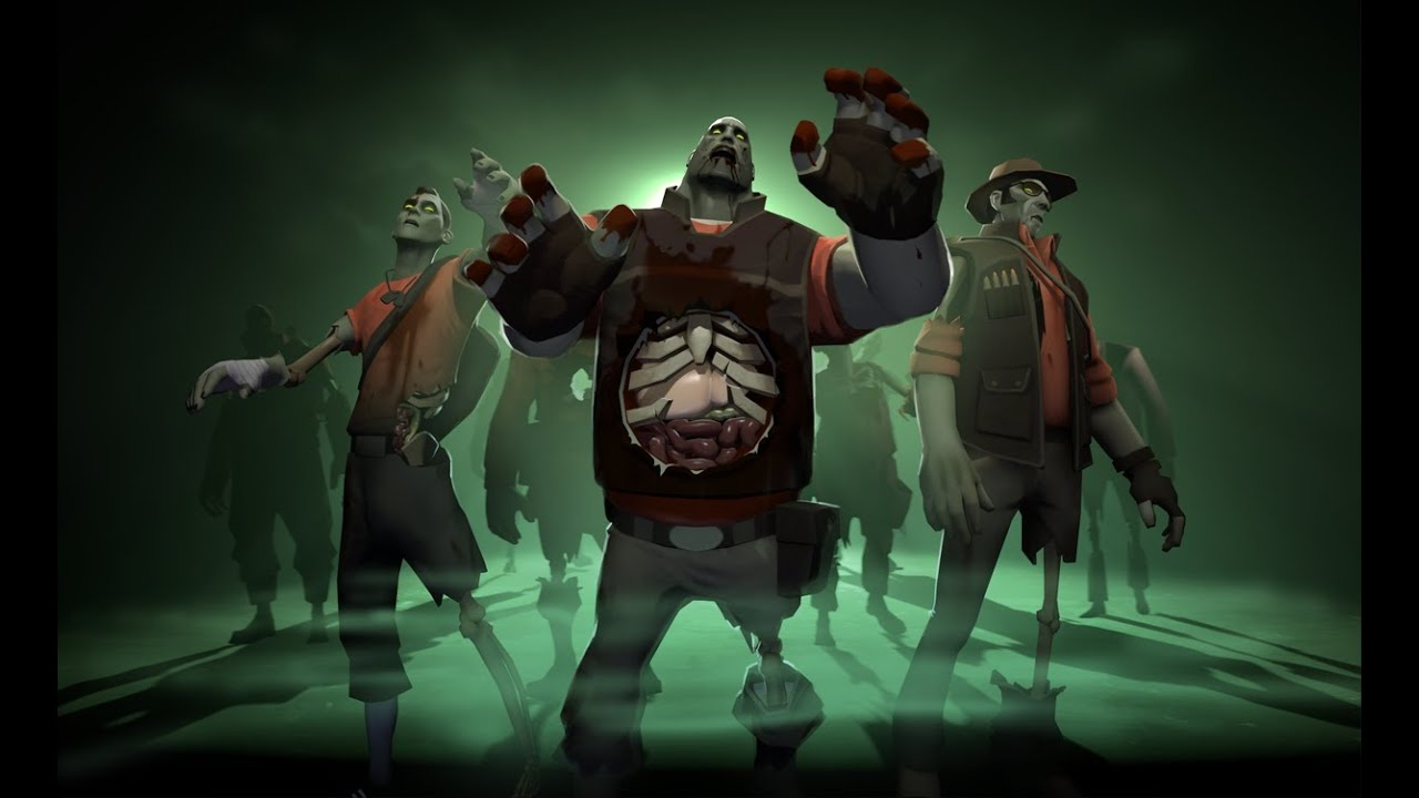 Team Fortress 2: Zombie Fortress Gameplay - YouTube