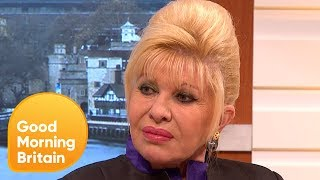 Life as Donald Trumps Wife Ivana Trump Speaks Out  Good Morning Britain