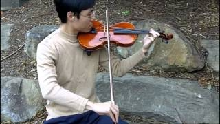 Violin Practice 20121202 Elgar Op.22 No.1 Very Easy Melodious Exercises
