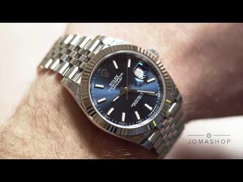 Jomashop Watch Reviews: Rolex Datejust Blue Dial Men's Jubilee Bracelet