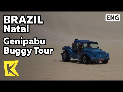 【K】Brazil Travel-Natal[브라질 여행-나타우]제니파부 모래 호수, 버기 투어/Genipabu Buggy Tour/Sand Dune/Sand Lake