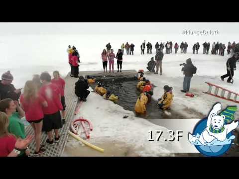 Duluth Polar Bear Plunge 2014