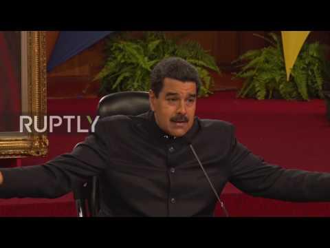 Venezuela: US seeks to 'martyr' Venezuela - Maduro
