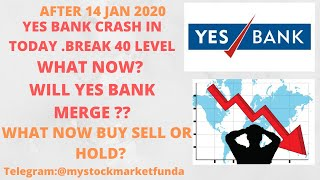 YES BANK SHARE LATEST NEWS | WILL YES BANK MERGE? | TARGET AFTER 14 JAN | BUY SELL #yesbank