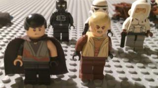 Звездные войны: Самоделка ЛЕГО на Дарт Вейдера...