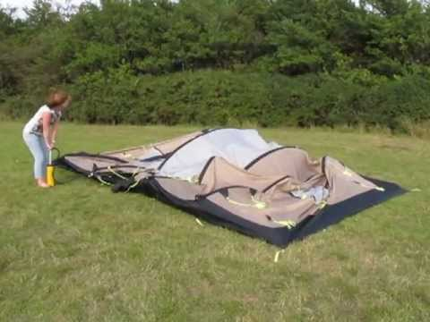 Kampa Southwold 4+2 AirFrame Tent - www.outdoormegastore.co.uk - YouTube