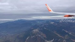 EasyJet A320, Geneva to Nice - The Alps/French Riviera Views