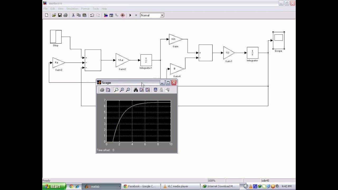 Simulation of Motor in Matlabavi  YouTube
