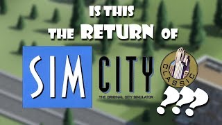 Is This The Return Of Classic SimCity? [Metropolisim]