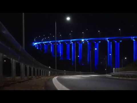 Most Vrla, Vladičin Han (Koridor 10)