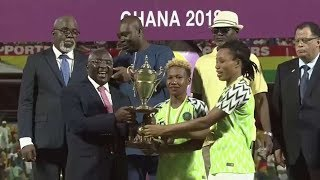 Nigeria vs South Africa 4 - 3 (Penalties) The Highlights, The Spot kicks, The Crowning of champions